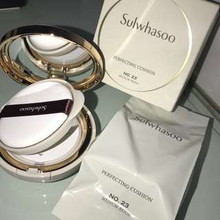 Sulwhasoo Perfecting Cushion No. 23 Medium Beige
