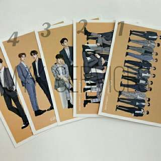Wanna One Special Postcard Collection