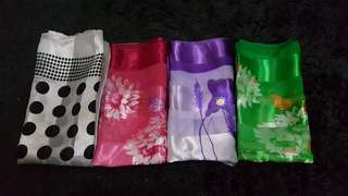 80rb for 4 kerudung satin!