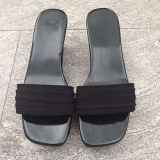 Wedges heels M)phosis Black