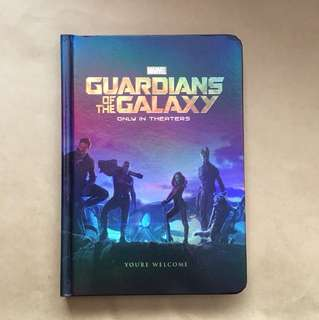 Marvel Guardians Of The Galaxy Notebook