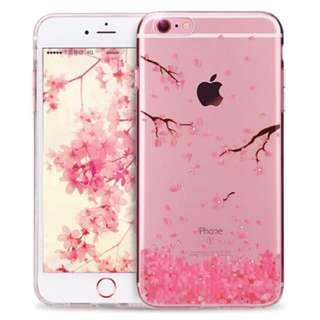 iPhone 8Plus / iPhone 7Plus Clear Case Diamond Sakura Design