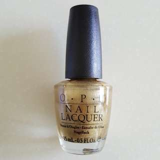 OPI I Get A Kick Out of Gold! SR6R6
