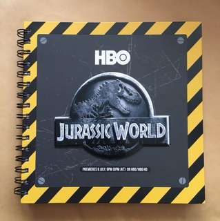 HBO Jurassic World Premium Notebook