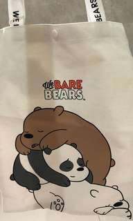 Miniso bear tote bag impor