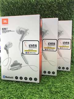 JBL E25BT bluetooth headset (New)