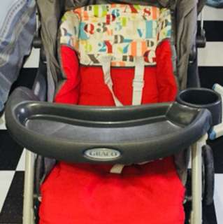 Graco stroller with carseat and freebies
