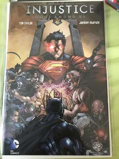 DC Injustice #1 Collectors Edition Variant