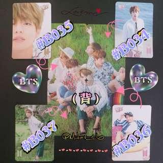 BTS - 專輯卡/YES卡( 拼圖系列八 )