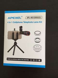 4 in 1 Cellphone telephoto lens kit