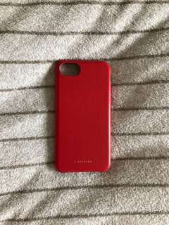 iPhone 8 case Red casetify