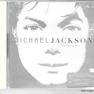 MY PRELOVED CD - MICHAEL JACKSON - INVICIBLE  /FREE DELIVERY (F3P)