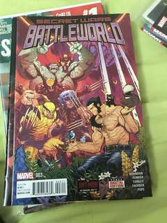 Marvel Secret Wars Battleworld #3 (First Cover Appearance of Weapon H)