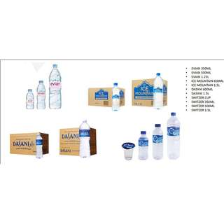 Mineral water / Drinking water