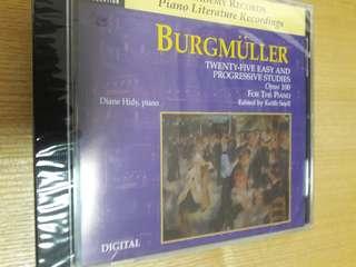 Burgmüller 25 easy & progressive studies opus 100