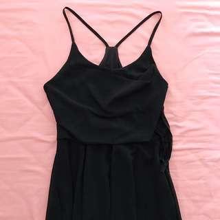 shopsassydream black halter dress