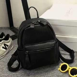 [INSTOCKS] Ladies Casual PU Leather Backpack