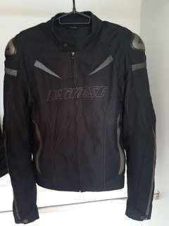 Dainese riding jacket with extra back protector(male)