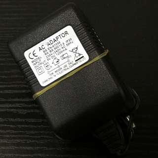 AC DC Adaptor Output: 9V DC 1200ma