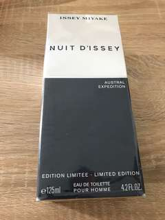 ISSEY MIYAKE NUIT D'ISSEY perfume 125ml Limited Edition