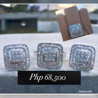 Diamond Jewelry set square