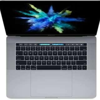 全新,原封 Apple Macbook, MPTR2ZP/A (15 吋 MacBook Pro - 太空灰) APPLE 官方價HKD 18588,現在17200