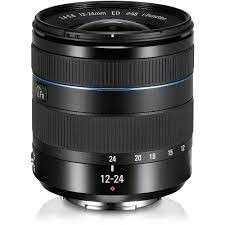 Samsung nx mount 12-24mm wide angle lens