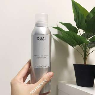Ouai Haircare Medium Hair Spray 7.2oz/204g (99% product left) RTP $39