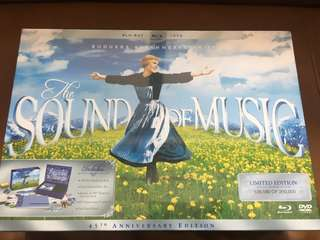 The Sound or Music blu-ray + DVD limited edition