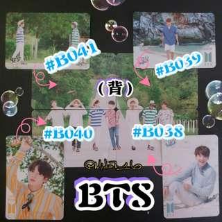 BTS - 專輯卡/YES卡( 拼圖系列九 )