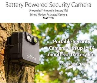 Brinno outdoor portable battery operated CCTV camera