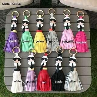 Karl Tassle Bag Charm