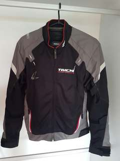 Taichi riding jacket with extra back protector (female)