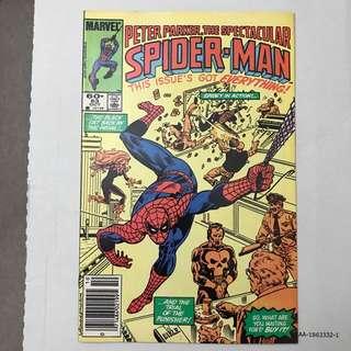 Spectacular Spider-Man # 83