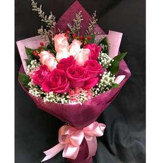 Flower Rose Bouquet