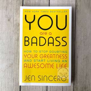 [Ready Stock] You Are a Badass - Jen Sincero