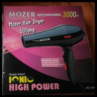 Mozer Hair Dryer / Blower