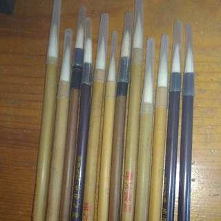 毛筆全新 12枝 70元