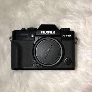 Fujifilm X-T10 black BODY ONLY ph unit xt10 xt-10 NO TO SWAP