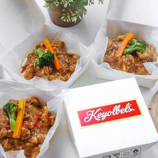 Keyolbel's Chicken Blackpepper Rice
