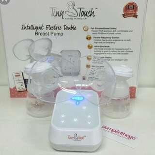 tiny touch double breastpump