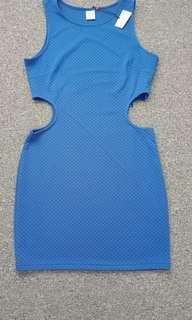Blue brand new dress size 10