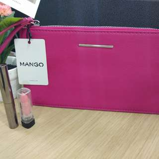 Pink Wallet by Mango