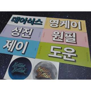 Day6 Name Tag Stickers