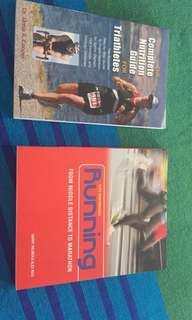 Triathlon and Running books
