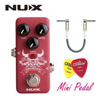 NUX DISTORTION MINI GUITAR EFFECT PEDAL