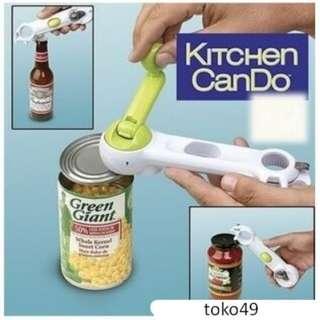 Kitchen can do Alat Pembuka kaleng pembuka botol praktis mudah