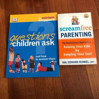 Parenting - scream free parenting & questions children ask