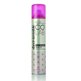 Co lab invisible sheer dry colab shampoo