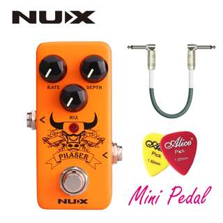 NUX VINTAGE PHASER MINI GUITAR EFFECT PEDAL